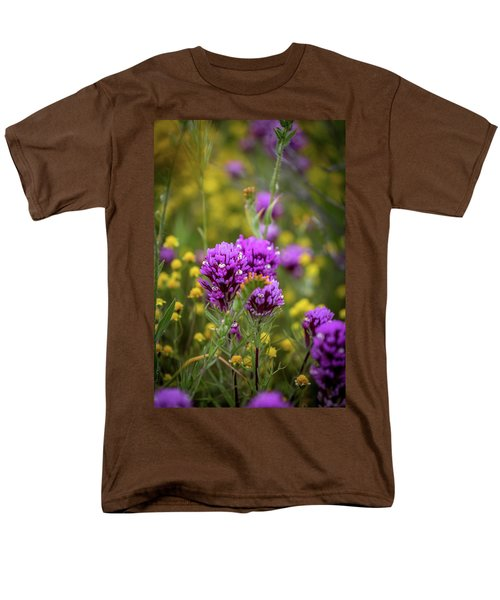 Men's T-Shirt  (Regular Fit) featuring the photograph Owl's Clover by Peter Tellone