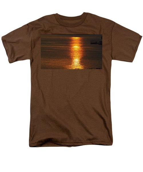 Ozark Lake Sunset Men's T-Shirt  (Regular Fit) by Don Koester