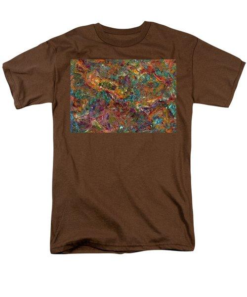 Paint Number 16 Men's T-Shirt  (Regular Fit) by James W Johnson