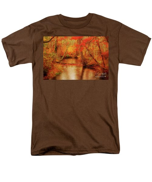 Painted Fall Men's T-Shirt  (Regular Fit) by Geraldine DeBoer