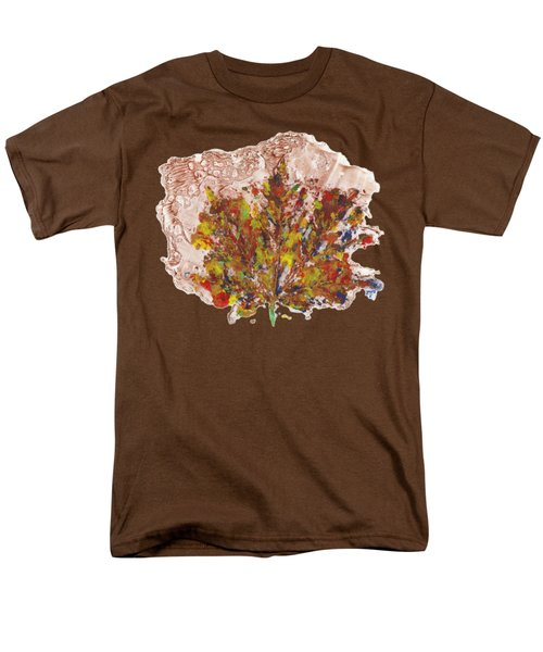 Men's T-Shirt  (Regular Fit) featuring the painting Painted Nature 3 by Sami Tiainen