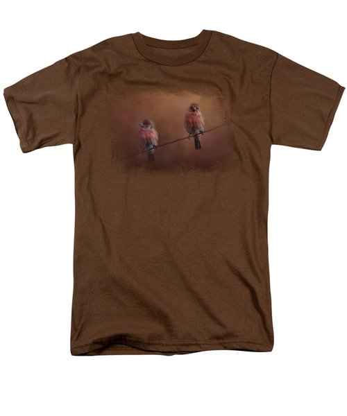 Pair Of Finches Men's T-Shirt  (Regular Fit) by Jai Johnson