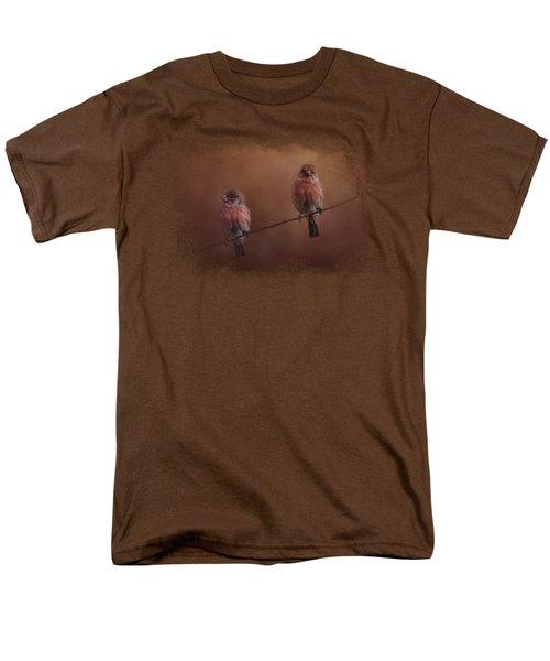 Pair Of Finches Men's T-Shirt  (Regular Fit)