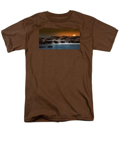Palos Verdes Coast Men's T-Shirt  (Regular Fit) by Ed Clark
