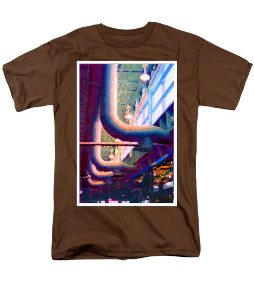 panel one from Star Factory Men's T-Shirt  (Regular Fit) by Steve Karol