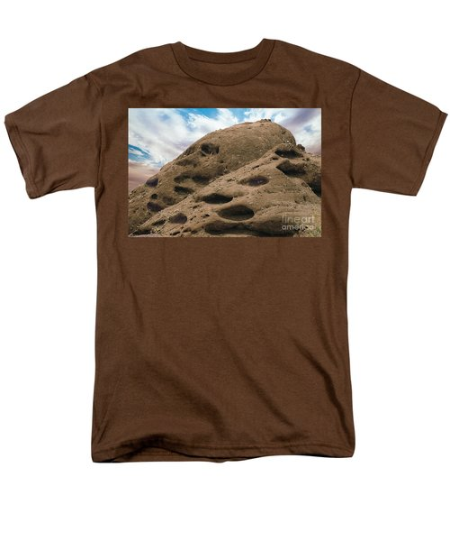 Men's T-Shirt  (Regular Fit) featuring the photograph Papago Buttes by Anne Rodkin