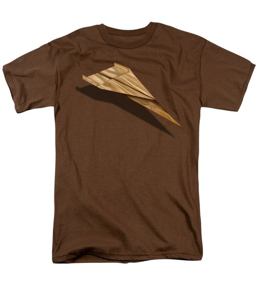 Paper Airplanes Of Wood 3 Men's T-Shirt  (Regular Fit) by YoPedro