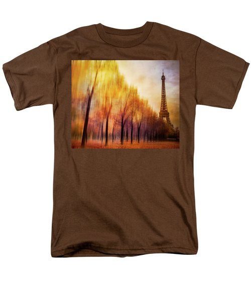 Paris In Autumn Men's T-Shirt  (Regular Fit) by Marty Garland