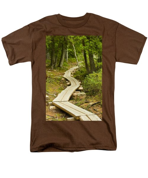 Path Into Unknown Men's T-Shirt  (Regular Fit) by Sebastian Musial