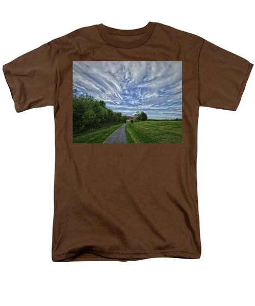 Path Men's T-Shirt  (Regular Fit) by Robert Geary