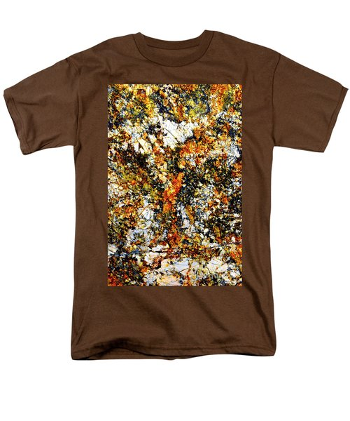 Men's T-Shirt  (Regular Fit) featuring the photograph Patterns In Stone - 207 by Paul W Faust - Impressions of Light
