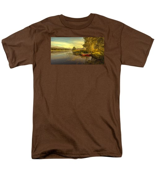 Men's T-Shirt  (Regular Fit) featuring the photograph Peaceful Morning by Rose-Maries Pictures