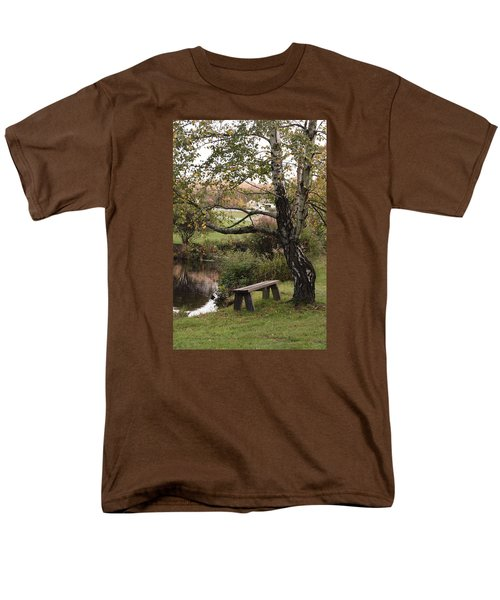 Peaceful Retreat Men's T-Shirt  (Regular Fit) by Margie Avellino