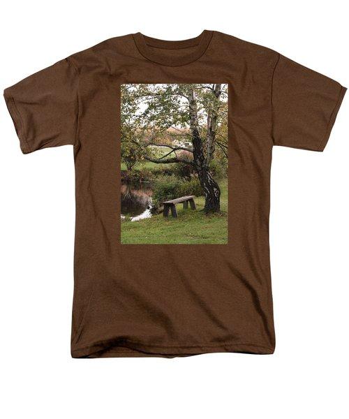 Peaceful Retreat Men's T-Shirt  (Regular Fit)