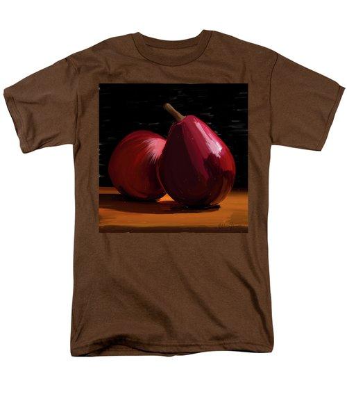 Peach And Pear 01 Men's T-Shirt  (Regular Fit) by Wally Hampton