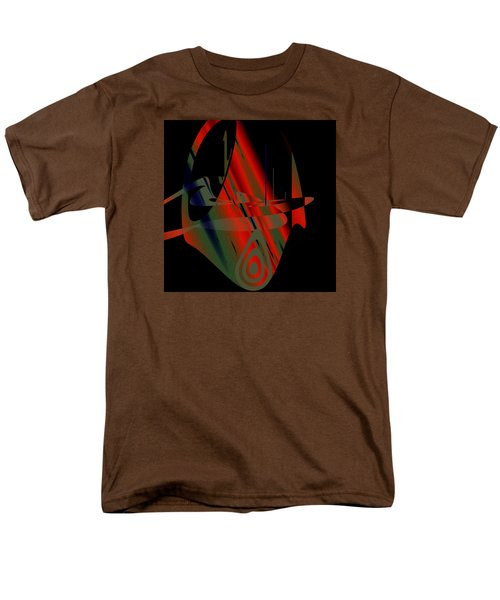 Men's T-Shirt  (Regular Fit) featuring the painting Penman Original-265- We Are All Ethnic by Andrew Penman