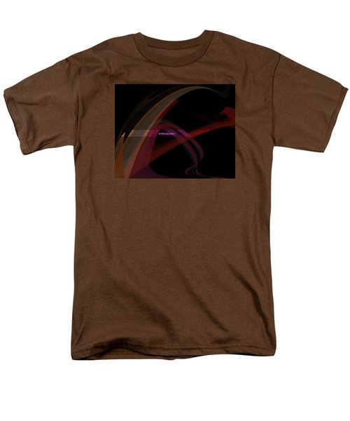Men's T-Shirt  (Regular Fit) featuring the painting Penman Original-293- A Glimmer Of Hope by Andrew Penman