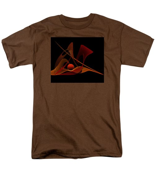 Men's T-Shirt  (Regular Fit) featuring the painting Penman Original-317-natural Light-natural Growth by Andrew Penman