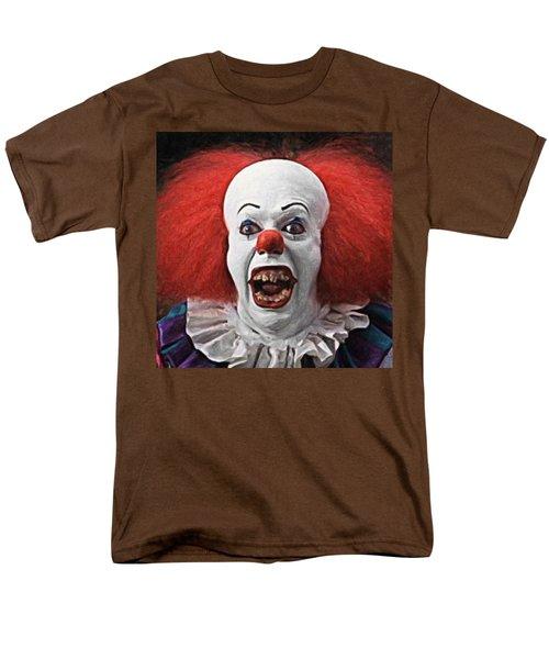 Pennywise The Clown Men's T-Shirt  (Regular Fit) by Taylan Apukovska
