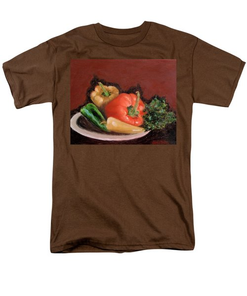 Peppers And Parsley Men's T-Shirt  (Regular Fit)