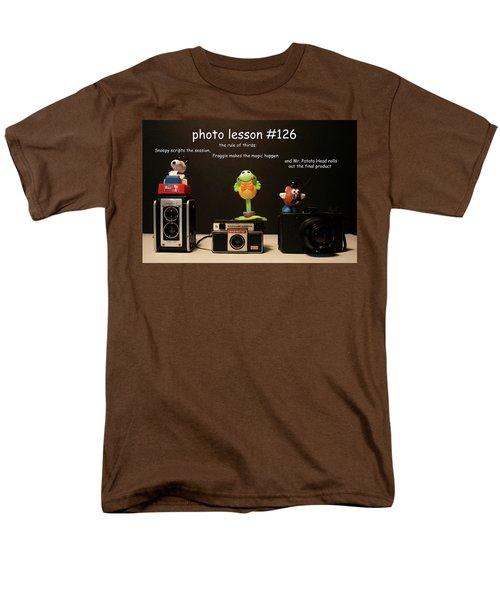Photo Lesson  Men's T-Shirt  (Regular Fit) by Toni Hopper