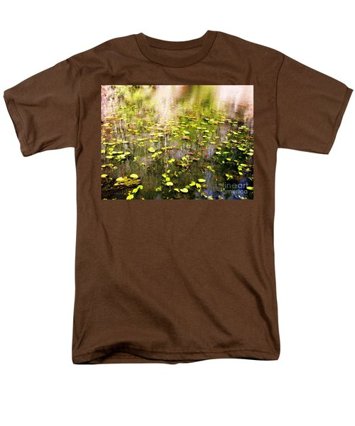 Men's T-Shirt  (Regular Fit) featuring the photograph Pink And Green by Melissa Stoudt