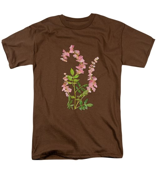 Pink Tiny Flowers Men's T-Shirt  (Regular Fit) by Ivana Westin