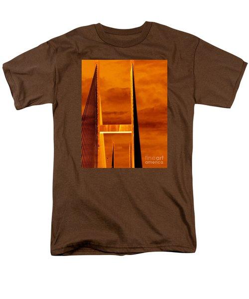 Pinnacle Men's T-Shirt  (Regular Fit) by Cathy Dee Janes
