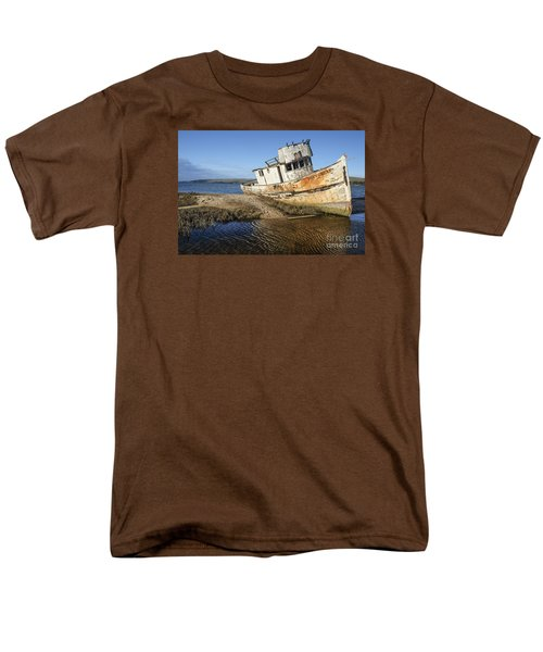 Point Reyes Shipwreck Men's T-Shirt  (Regular Fit) by Amy Fearn