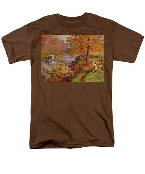 Men's T-Shirt  (Regular Fit) featuring the digital art Pokemonet by Greg Sharpe