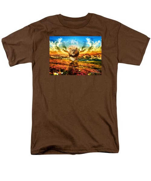 Power And Glory Men's T-Shirt  (Regular Fit) by Dolores Develde