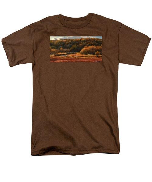 Prairie Autumn Stream No.2 Men's T-Shirt  (Regular Fit) by Bruce Morrison