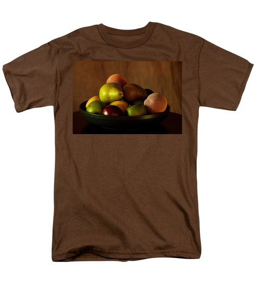 Men's T-Shirt  (Regular Fit) featuring the photograph Precious Fruit Bowl by Sherry Hallemeier