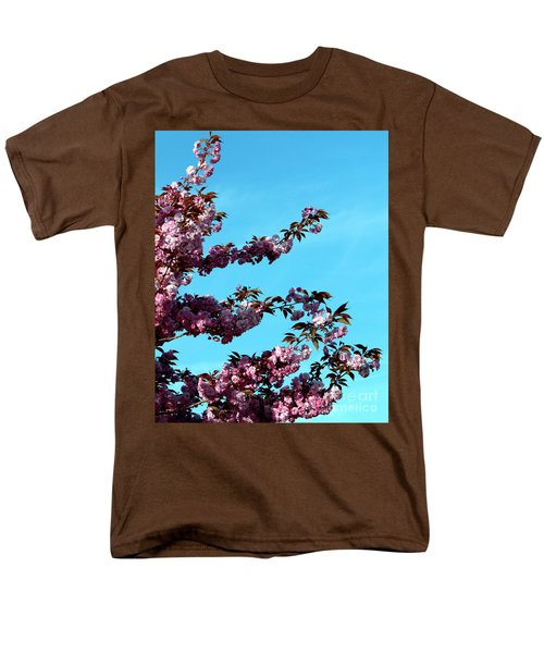 Men's T-Shirt  (Regular Fit) featuring the photograph Pretty In Pink by Stephen Melia