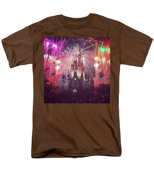 The Happiest Place On Earth  Men's T-Shirt  (Regular Fit) by Kate Arsenault