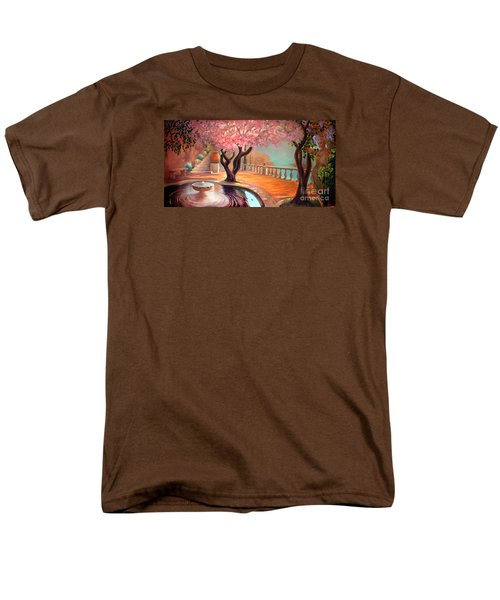 Men's T-Shirt  (Regular Fit) featuring the painting Primavera by Michael Rock