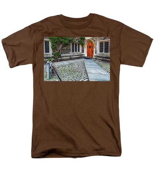 Men's T-Shirt  (Regular Fit) featuring the photograph Princeton University Foulke Hall by Susan Candelario