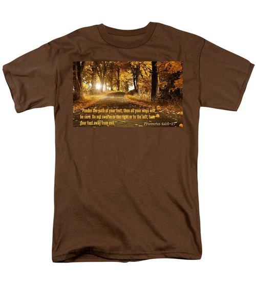 Proverbs104 Men's T-Shirt  (Regular Fit) by David Norman