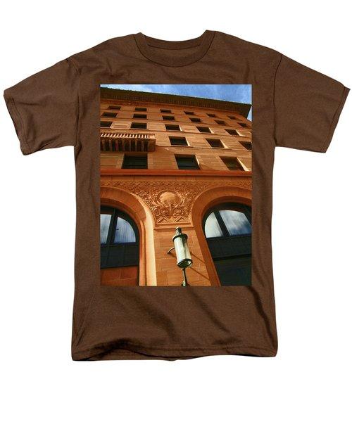 Pueblo Downtown Thatcher Building 2 Men's T-Shirt  (Regular Fit) by Lenore Senior