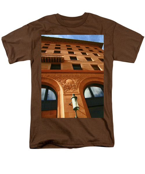 Pueblo Downtown Thatcher Building 2 Men's T-Shirt  (Regular Fit)