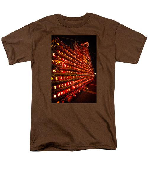 Men's T-Shirt  (Regular Fit) featuring the photograph Pumpkin Festival 2015 by Robert Clifford