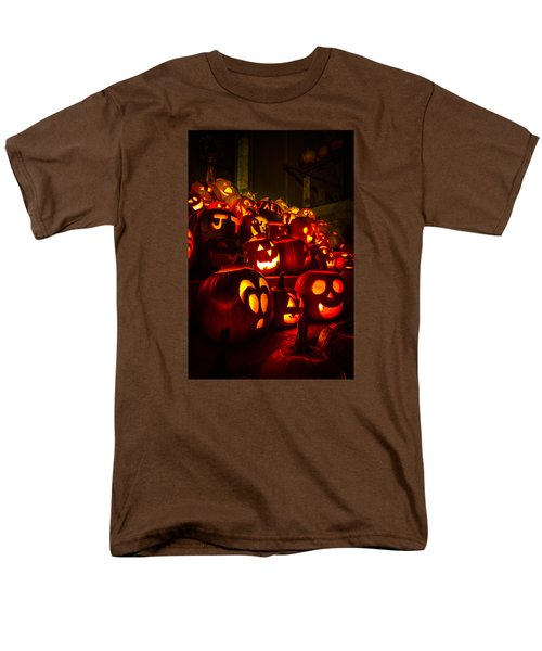 Men's T-Shirt  (Regular Fit) featuring the photograph Pumpkinfest 2015 by Robert Clifford