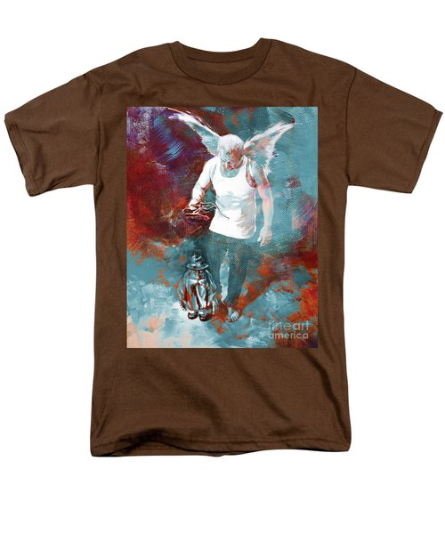Men's T-Shirt  (Regular Fit) featuring the painting Puppet Man 003 by Gull G
