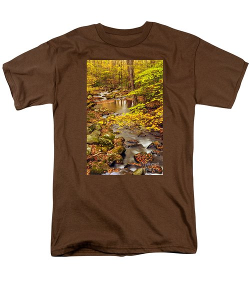 Men's T-Shirt  (Regular Fit) featuring the photograph Pure Gold by Debbie Green