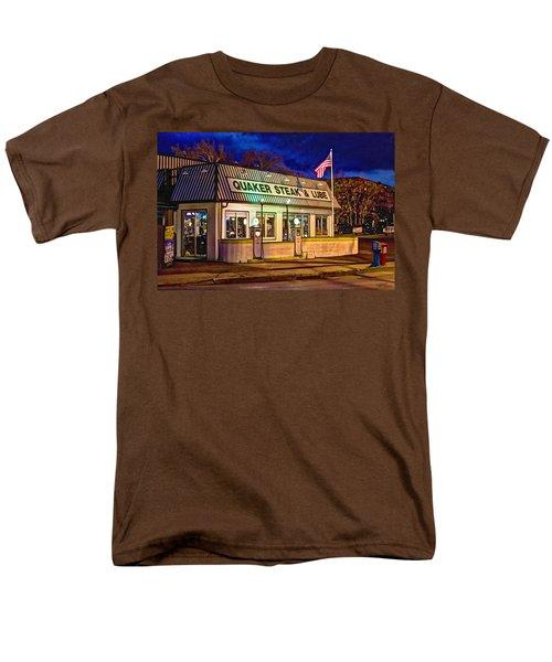 Quaker Steak And Lube Men's T-Shirt  (Regular Fit) by Skip Tribby