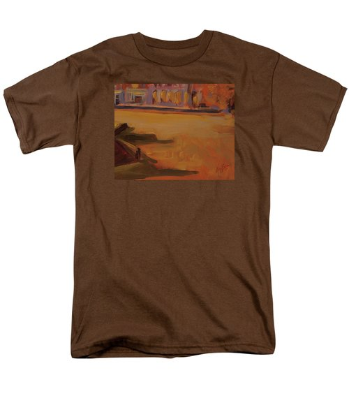 Men's T-Shirt  (Regular Fit) featuring the painting Queen Emma Square Detail by Nop Briex