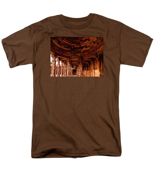 Qutub Minar Men's T-Shirt  (Regular Fit) by M G Whittingham