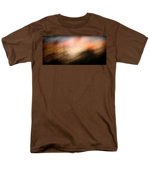Men's T-Shirt  (Regular Fit) featuring the photograph Race You To The Top by Marilyn Hunt