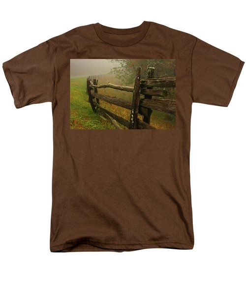 Rails Of Time Men's T-Shirt  (Regular Fit) by Dale R Carlson