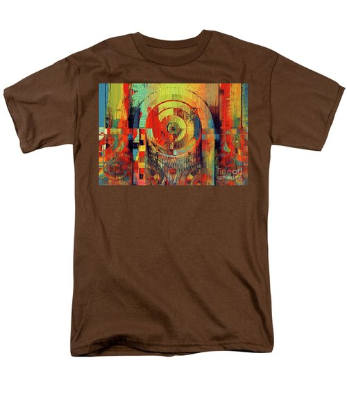 Men's T-Shirt  (Regular Fit) featuring the digital art Rainbolo - 01t01ii by Variance Collections